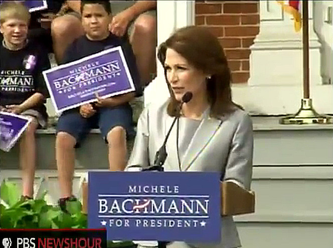 Michele Bachmann Waterloo Iowa
