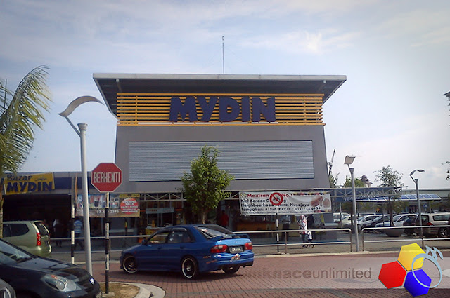 mknace unlimited™ | Mydin Nusajaya di hari minggu
