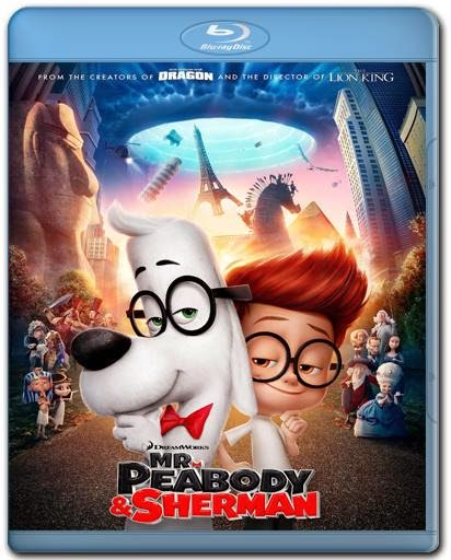 Baixar Filme As Aventuras de Peabody e Sherman AVI Dual Áudio BDRip Download via Torrent