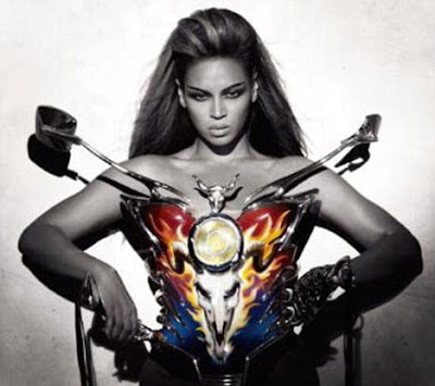 Beyonce and Satan or Baphomet