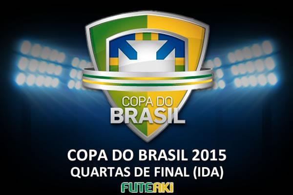 Veja o resumo das partidas das quartas de final da Copa do Brasil 2015 desta quarta-feira, 23 de setembro de 2015.