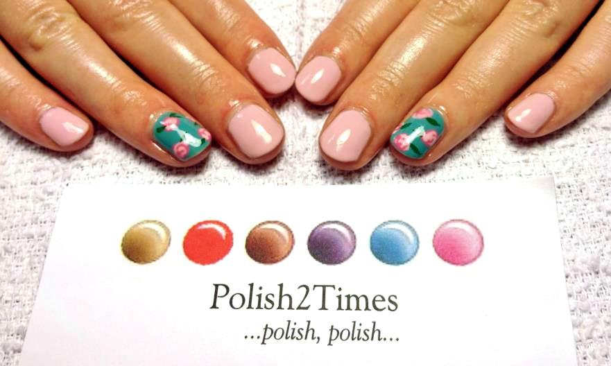 Jill hannahs craftacularity 2012 wedding nail art no chip manicure from polish2times solutioingenieria Images