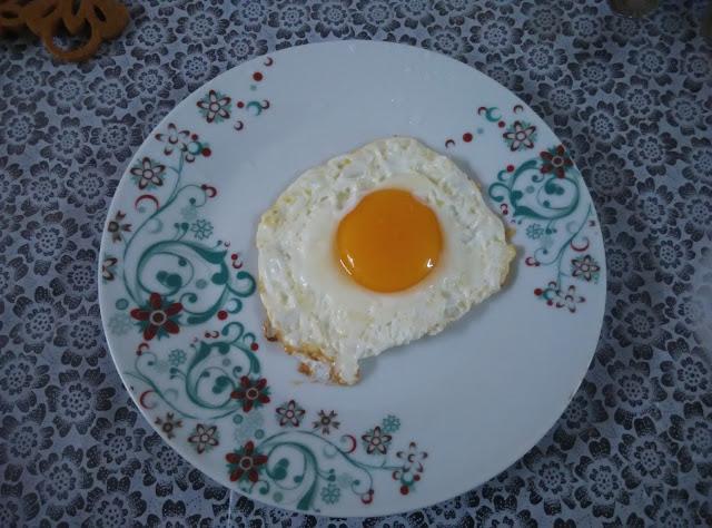 Telur setengah masak, telur half cook, telur Untuk Abang, telur Untuk sarapan,  kisah telur dan poligami,