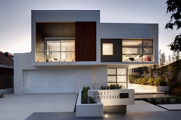 Attractive Contemporary Style Home In Perth, Australia ...