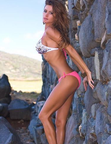 bikini model in supergator