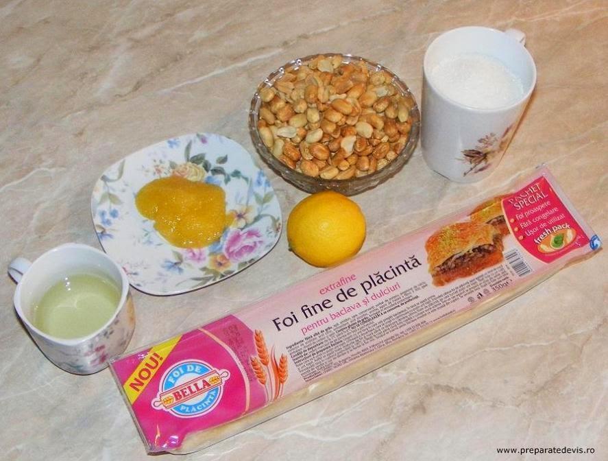 ingrediente sarailii, ingrediente baclavale, ingrediente sarailie, cum se fac sarailii turcesti, retete culinare, reteta dulciuri turcesti,