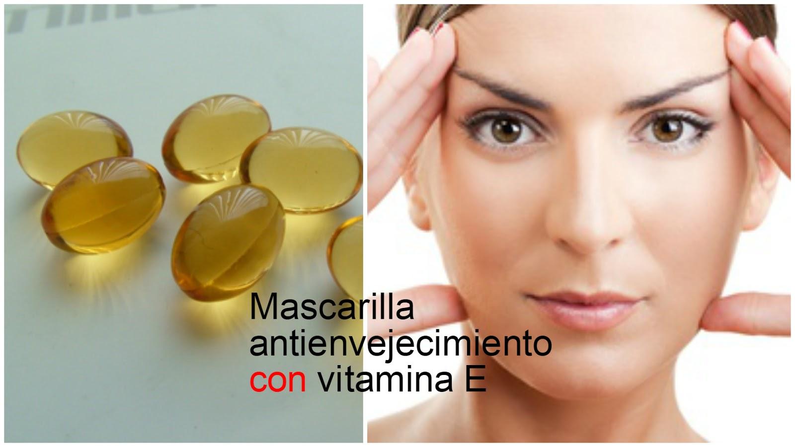Vitamina e para el cabello y unas