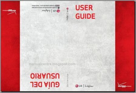 LG Enlighten VS700  Manual Cover