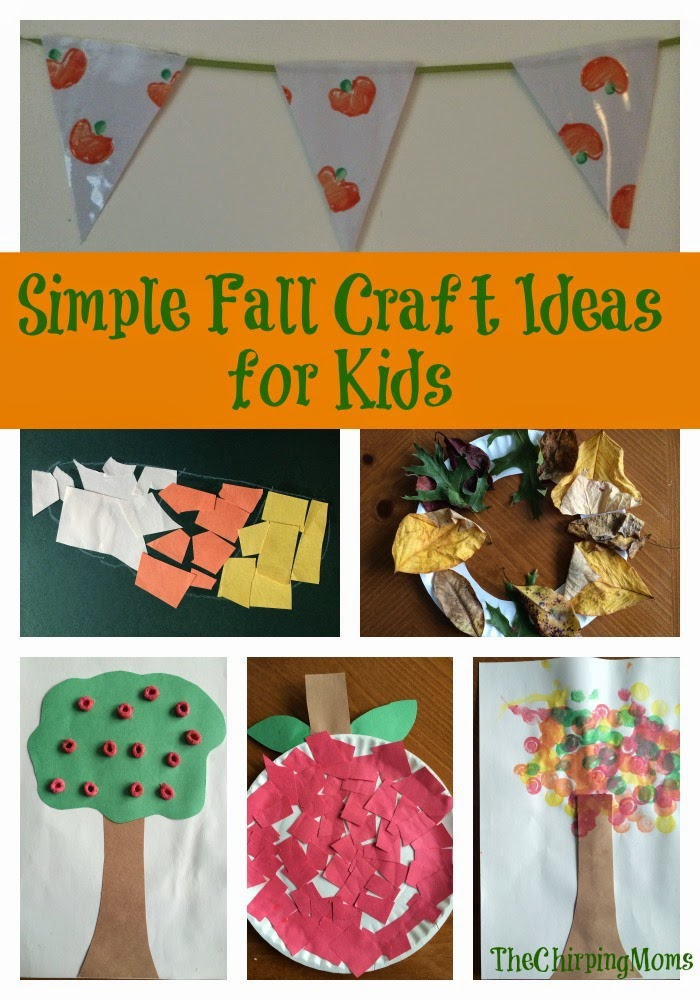 Fall fun for kids the chirping moms for Simple fall crafts for kids