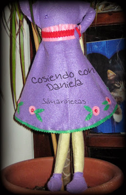 kit de muñeca de fieltro-