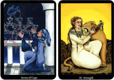 Anna K Tarot Seven of Cups Strength