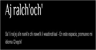 AJ RALCH'OCH'
