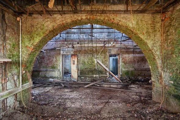 Jeremy Harris fotografia asilos hospitais psiquiátricos abandonados da america solidão claustrofobia tristeza