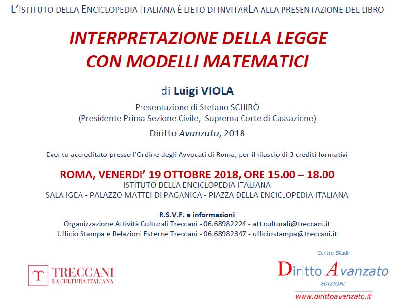 Istituto della Enciclopedia Italiana TRECCANI, Roma (19.10.2018)