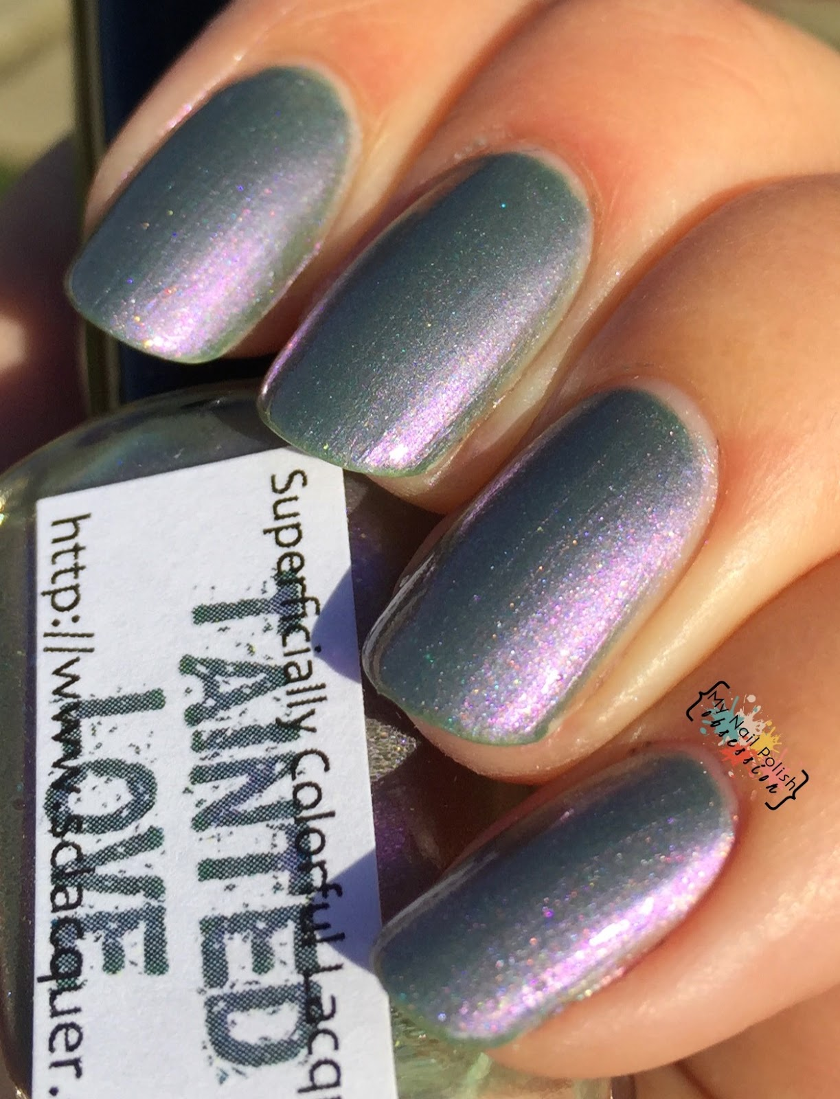 Superficially Colorful Lacquer Tainted Love