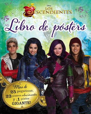 LIBRO - DISNEY Los Descendientes . Libro de pósters  (15 Septiembre 2015) | Descendants  Libro oficial de la película de Disney Channel  Comprar en Amazon