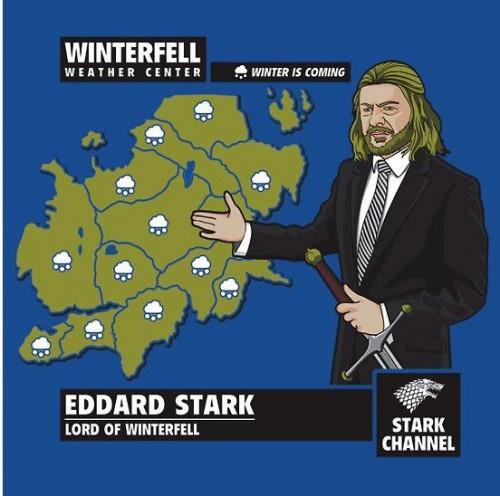 El Tiempo de Invernalia, con Eddard Stark