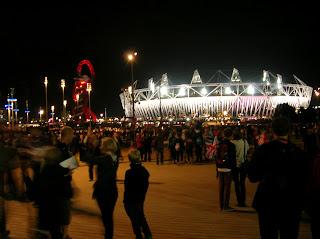 London 2012 Olympics - Olympic Park at Night