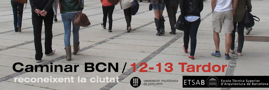 Caminar BCN 2012-13 Tardor