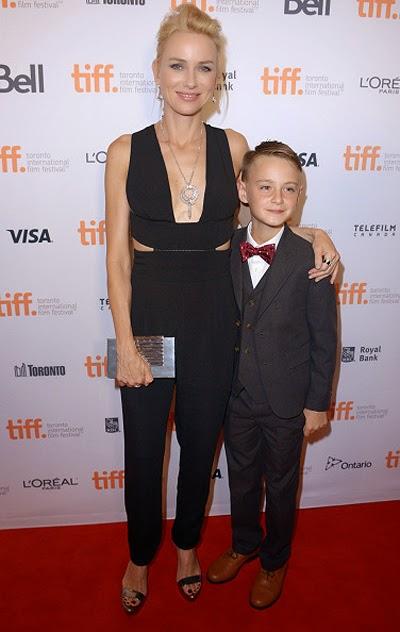 Naomi Watts and Dzhaeden Liberher