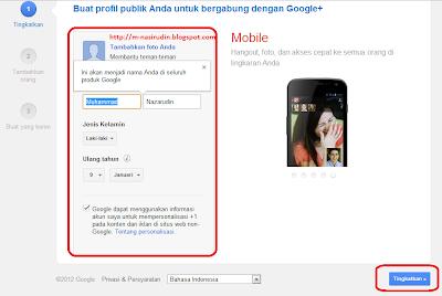 Akun Google +