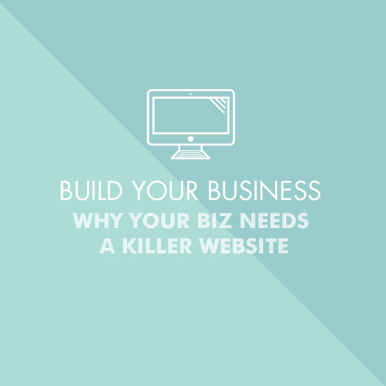 why your business needs a killer website, portfolio, creative entrepreneurs, women entrepreneurs, betty red, betty red design,