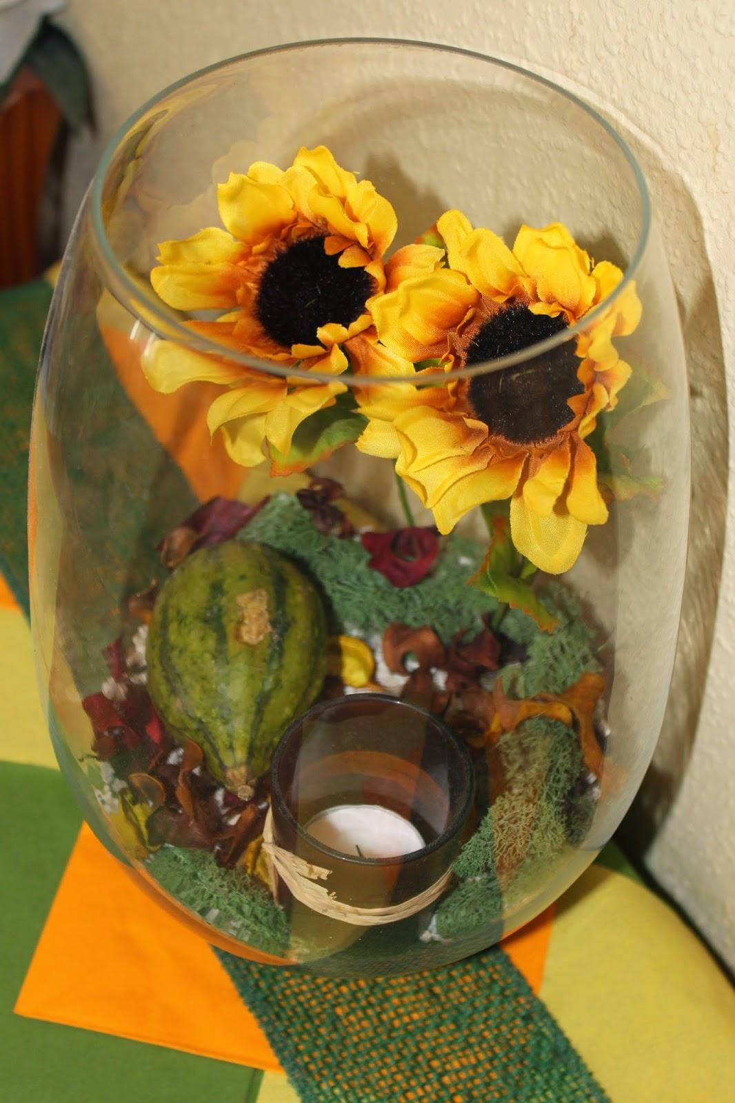 Be a Diva DIY Herbstdeko für den Tisch