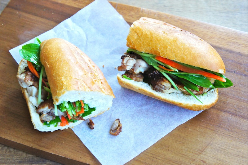 Seasaltwithfood: Spicy Lemongrass Chicken Banh Mi