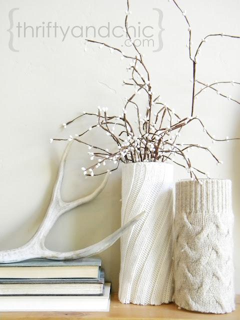 Sweater Vase