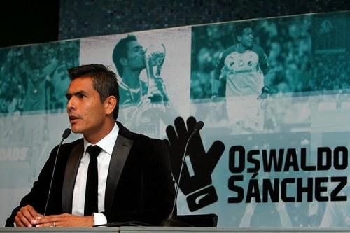 Oswaldo Sanchez Mexico el Retiro de Oswaldo Sánchez