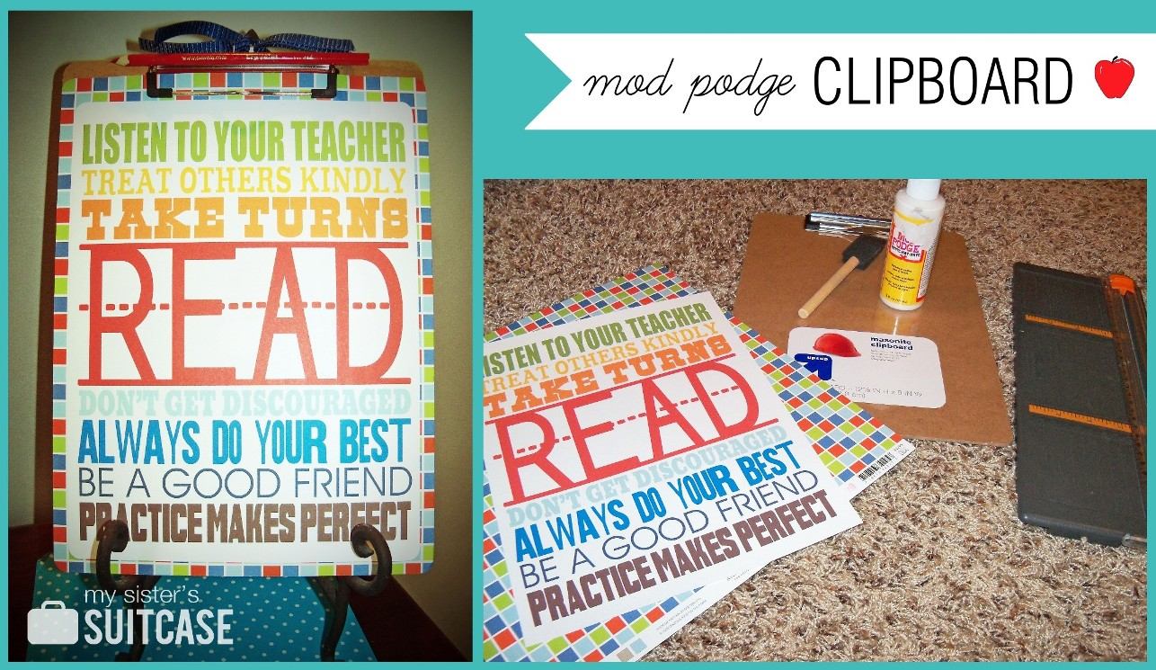 Scrapbook ideas for teachers - 10 Easy Teacher Gift Ideas