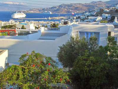 Mykonos from Andriani Ghest House