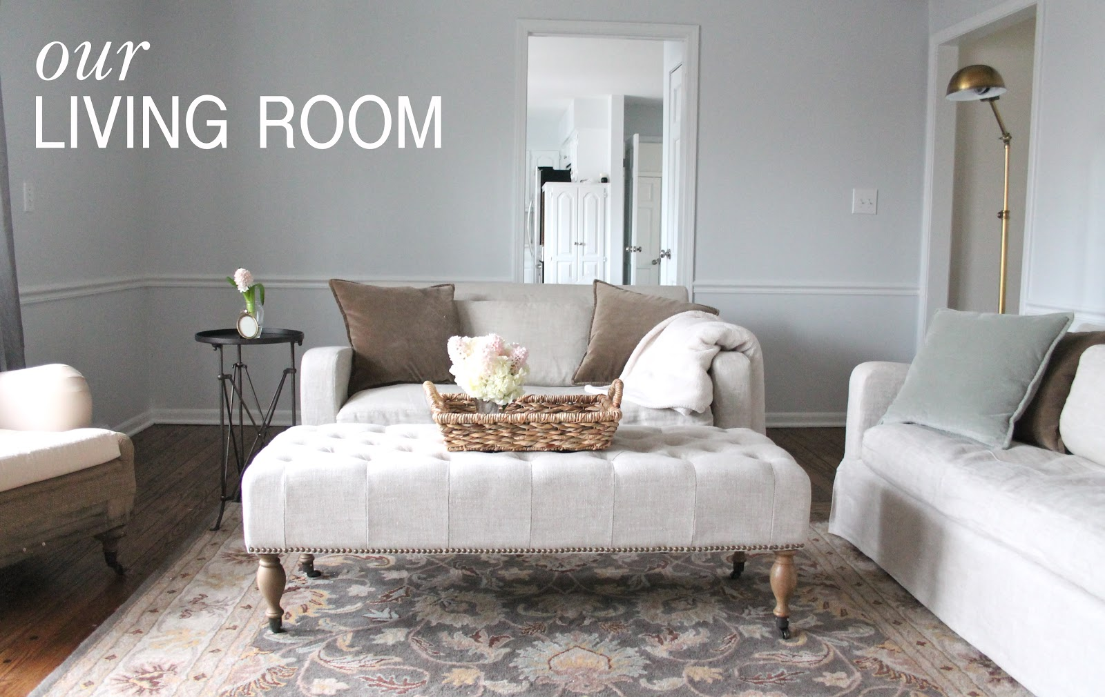 Our Living Room - Coordinately Yours by Julie Blanner entertaining