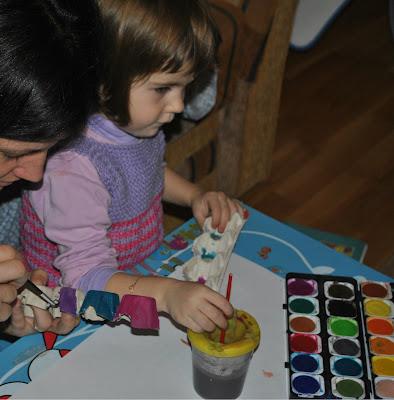 craft, cofraj de oua, activitate pentru copii