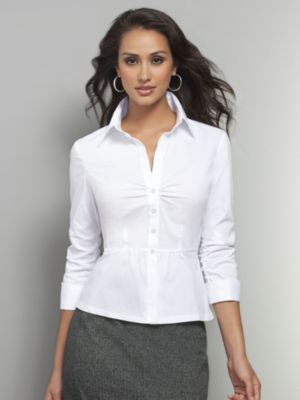Popular White Dress Shirt  Business Casual  Women39s  Pinterest