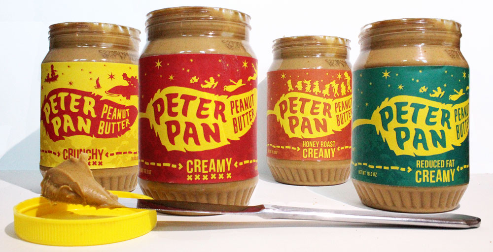 Peter Pan Peanut Butter Student Project On Packaging Of