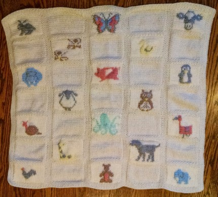 Animal Parade Baby Blanket - Free Pattern