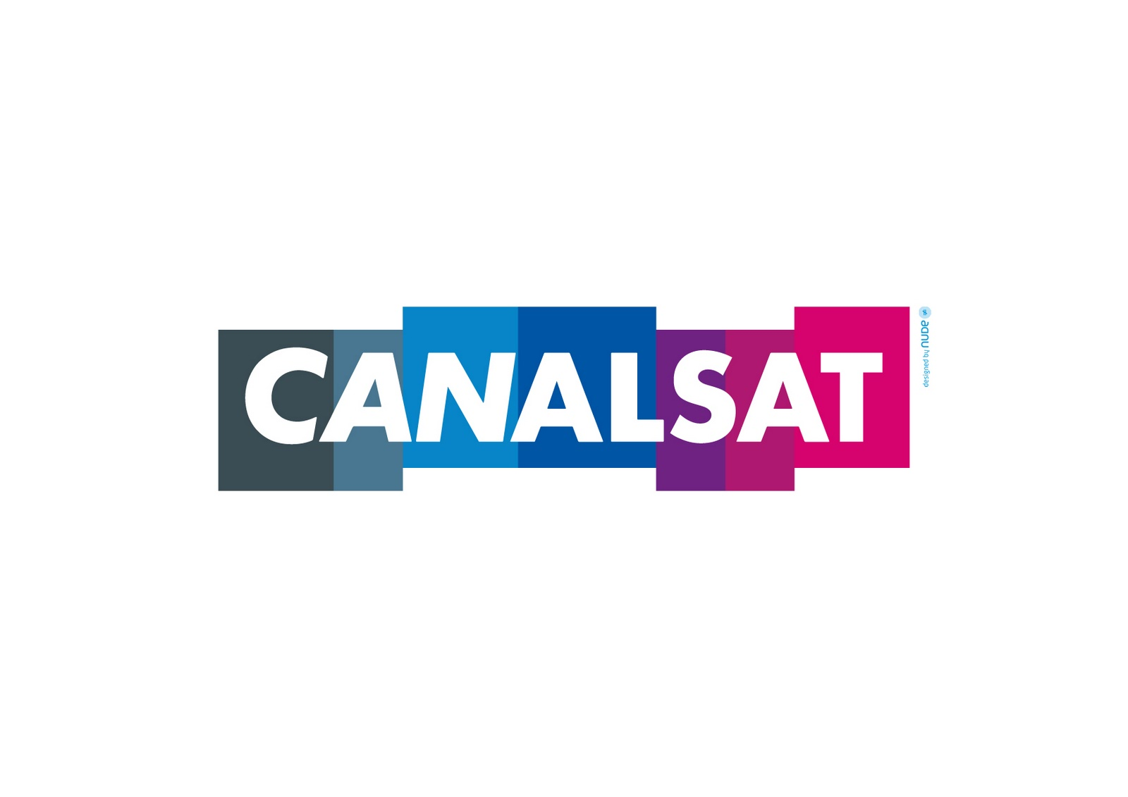 in the box communiqu de presse l 39 agence parisienne nude signe le nouveau logo canalsat. Black Bedroom Furniture Sets. Home Design Ideas