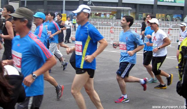 Corriendo el medio maratón HiSeoul 2012