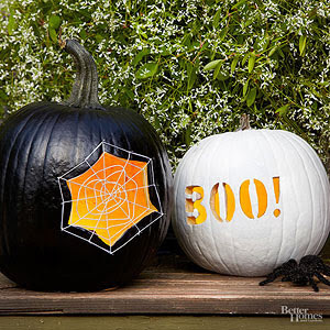 Free Patterns and Instructions to carve a Pumpkin