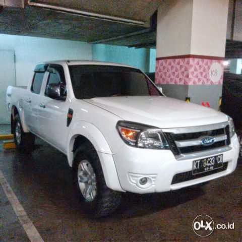Ford Ranger Double Cabin 2010 Ford Bekas Barang Second