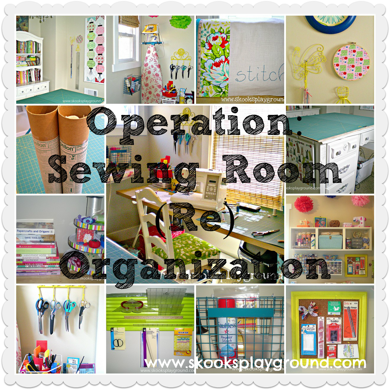 Skooks' Playground***: Operation: Sewing Room (
