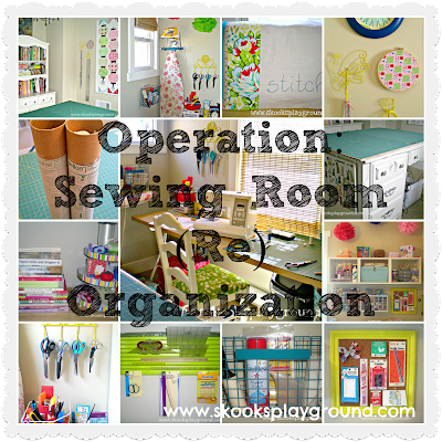 My Organized Sewing Craft Room