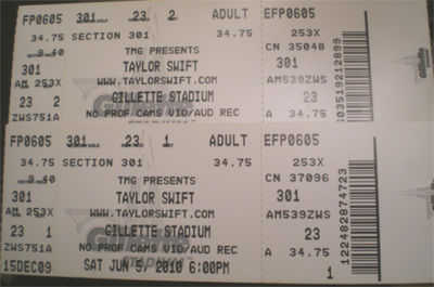 Taylor Swift Concert Schedule 2011 on Here The Tickets   Want It