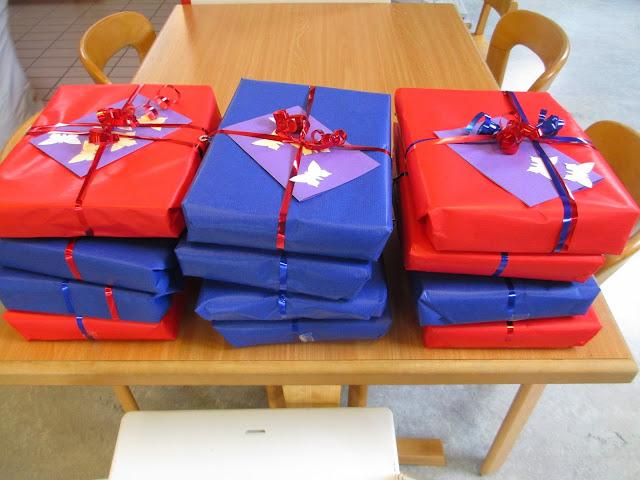 Geschenk für den Muttertag gebastelt im Kindergarten