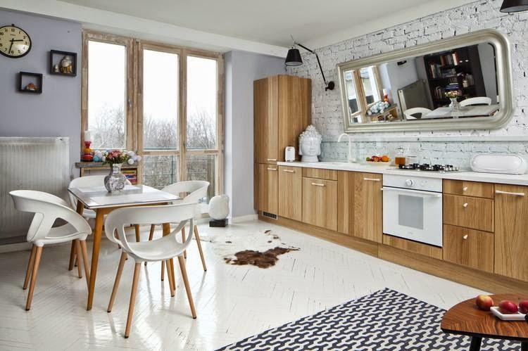 Me, My House and I  Lustro w kuchni -> Kuchnia Lakierowana Czy Okleina