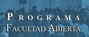 Programa Facultad Abierta (Argentine)