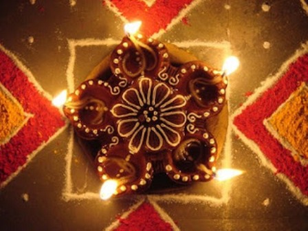 My Box Wallpapers: Diwali Diyas Decoration Ideas & Colourful Diyas ...