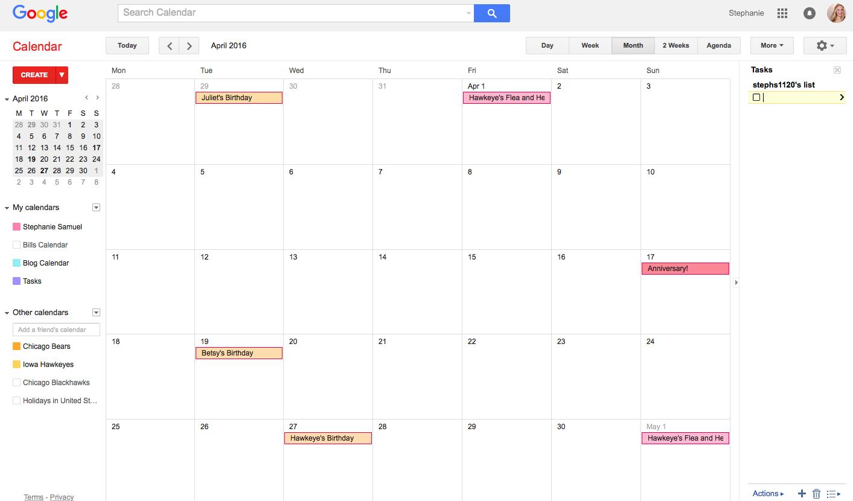 how to add birthdays on google calendar