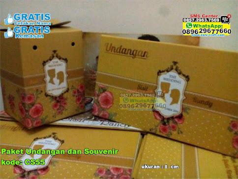 Paket Undangan Dan Souvenir